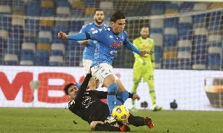 Napoli Spezia Coppa Italia
