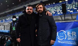 Juve-Napoli, le scelte di Gattuso e Pirlo