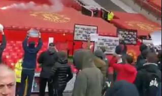 Invasione Manchester United - Liverpool