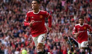 Cristiano Ronaldo gol Manchester United