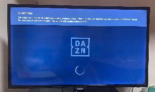 Problemi Dazn, errore 55 007 034